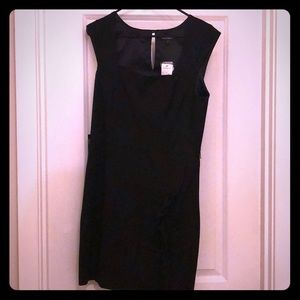Beautiful black cocktail dress. Never worn w/tags!